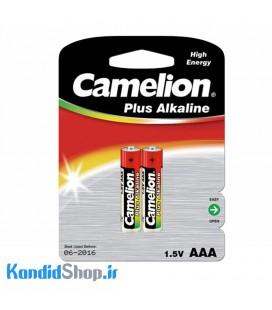 باتری نیم قلمی 2 تایی Camelion Plus Alkaline AAA