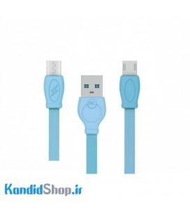 کابل USB به Micro USB دبلیو کی مدل WDC-023 طول 2 متر