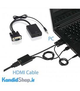 مبدل VGA به HDMI