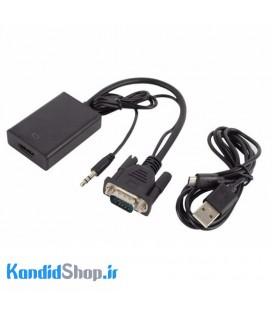 تبدیل VGA به HDMI