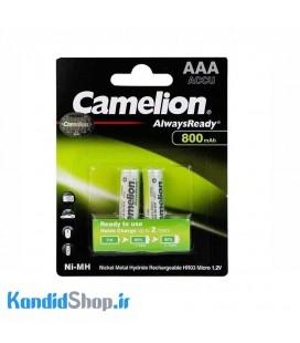 باتری نیم قلمی شارژی Camelion NH-AAA800 800mAh