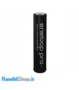 باتری نیم قلمی قابل شارژ 2 تایی پاناسونیک مدل Eneloop Pro