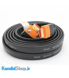 کابل HDMI فلت J-Co 4K طول 3 متری