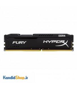 رم کامپیوتر کینگستون HyperX FURY DDR4 8GB 2400MHz CL15