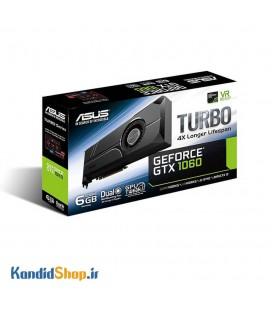 کارت گرافیک ایسوس مدل TURBO-GTX1060-6GB