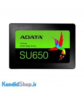 حافظه SSD ای دیتا مدل SU650-120GB