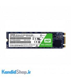 حافظه SSD وسترن دیجیتال مدل Green M.2-120GB