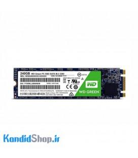 حافظه SSD وسترن دیجیتال مدل Green M.2-240GB
