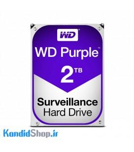 هارددیسک اینترنال وسترن دیجیتال WD Purple 2TB