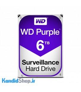 هارد اینترنال وسترن دیجیتال بنفش WD Purple 6TB