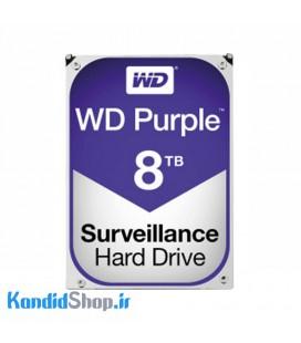 هارد اینترنال وسترن دیجیتال بنفش WD Purple 8TB