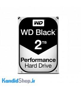 هارد اینترنال وسترن دیجیتال مشکی WD Black 2TB