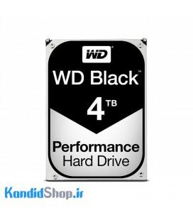 هارد اینترنال وسترن دیجیتال مشکی WD Black 4TB