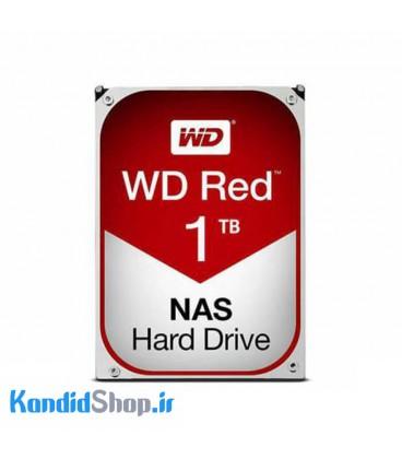 هارددیسک اینترنال وسترن دیجیتال قرمز با ظرفیت 1 ترابایت