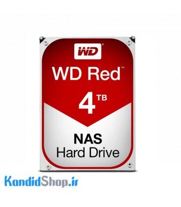 هارددیسک اینترنال وسترن دیجیتال قرمز با ظرفیت 4ترابایت
