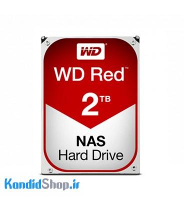هارددیسک اینترنال وسترن دیجیتال قرمز با ظرفیت 2ترابایت