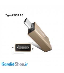 مبدل USB-C به USB 3.0 ریمکس مدل RA-OTG1