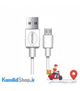 کابل USB به Micro USB هانروکس مدل M1 طول1 متر