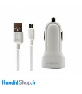 شارژر فندکی ریمکس مدل XD-359 + کابل Micro USB