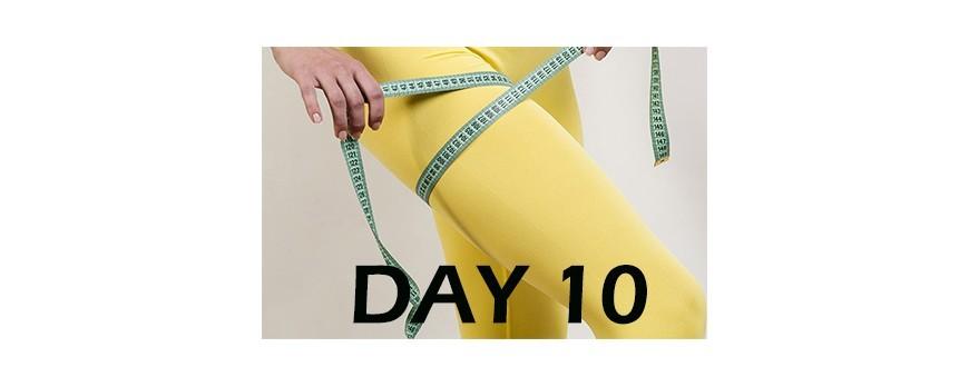 تمرینــات لاغری پا مـــاه اول - روز 10
