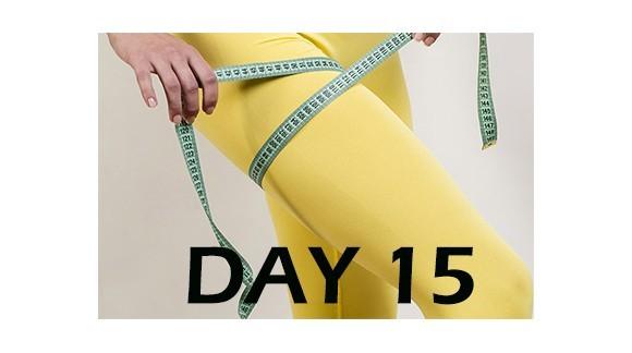 تمرینــات لاغری پا مـــاه اول - روز 15