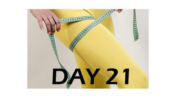 تمرینــات لاغری پا مـــاه اول - روز 21